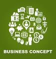 BusinessWorld vector image vector image