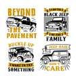 car adventure quote and saying 100 best vector image vector image