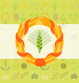 cereal seeds grain wheat product backround vector image