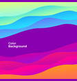colorful abstract curve banner trend gradient vector image