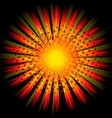 comic power blast vector image