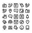 Communication Icons 9 vector image vector image