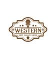 country guitar music western vintage retro saloon vector image vector image