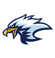 eagle mascot logo mascot design vector image vector image