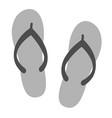 flip flops icon vector image