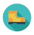 Hiking shoes vector image vector image