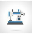 Industrial sewing flat color icon vector image vector image