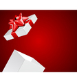 open gift present vector image vector image