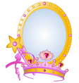 Princess Collectibles vector image vector image