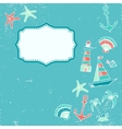 Traveling pattern vector image vector image
