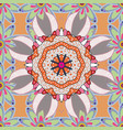 design element colored pattern on a neutral vector image