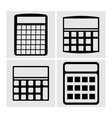 Icons Calculator vector image vector image
