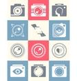 Set Photo Logo vector image