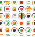 sushi seamless pattern background vector image vector image