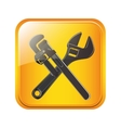 Under construction tool vector image vector image