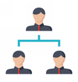 Business Hierarchy Concept vector image