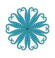 abstract graphic aquatic vector image vector image
