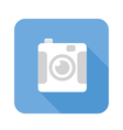 digital camera flat icon vector image