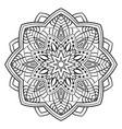 Ornamental abstract mandala