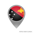 papua new guinea point vector image