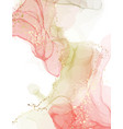 watercolor resin art pinting fine art alcohol ink vector image vector image