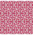 geometrical islamic ornament vector image