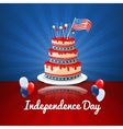 American Independence Day 4th of July USA Holiday vector image vector image
