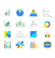 business data elements vector image vector image