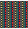 colorful seamless borders pattern ornamental vector image