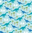 dinosaur baby vector image vector image