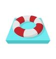 Lifebuoy icon cartoon style vector image vector image