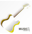 music abstract design concept vector image vector image