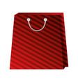 shopping online bag market commerce vector image vector image