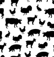 Farm seamless pattern vector image vector image