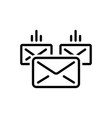 mailing vector image vector image