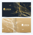 modern template for square brochure vector image vector image