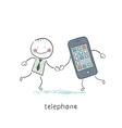 Phones vector image