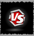 versus sign vs letters competition