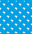 brazil map pattern seamless blue vector image