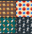 high quality space planets flat vector image