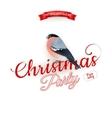 Merry Christmas greeting card EPS 10 vector image