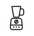 planetary blender icon outline vector image vector image