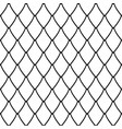 seamless net pattern vector image