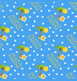 seamless pattern for hawaii vector image