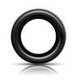 tire black vector image vector image