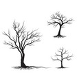 tree branch love ilustration design vector image vector image