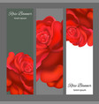 wedding card or invitation with abstract floral vector image vector image