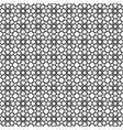 black star shape pattern background vector image