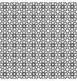 black star shape pattern background vector image vector image