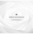 circle of modern abstraction background in motion vector image vector image